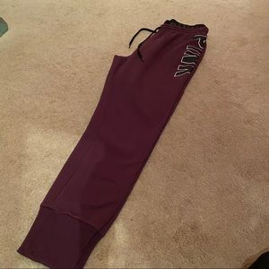 Pink Purple High Rise Joggers